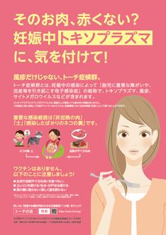 トキソプラズマ啓発ポスター(PDF)