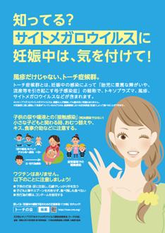 啓発ポスターサイトメガロウイルス