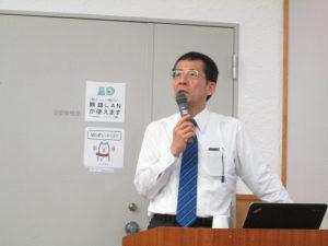 須磨崎先生の講演